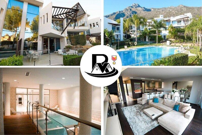 Modern Style 3 Bedroom Resort Villa In Sierra Blanca! ✔, vacation rental in Marbella