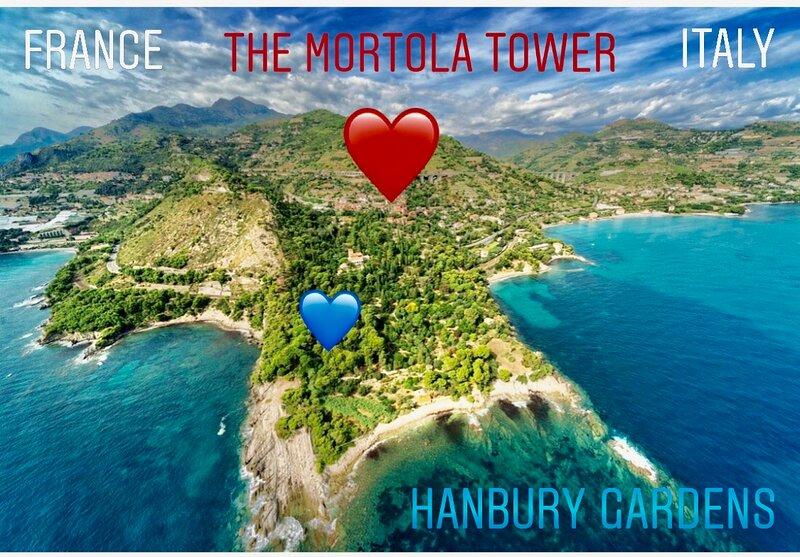 LOFT DI 90MQ MORTOLA HANBURY GARDEN, holiday rental in Ventimiglia