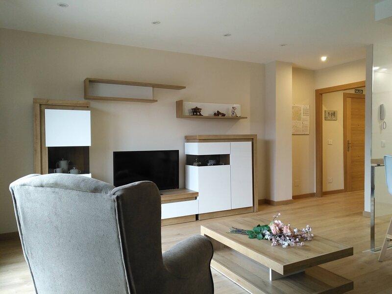 Amplio apartamento en Villavivciosa para disfrutar unos dias de vacaciones, holiday rental in Villaviciosa