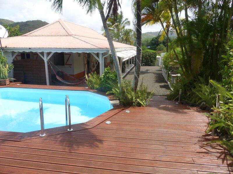Le Flamboyant T5 *** - Villa Ti Gite, location de vacances à Le Marin