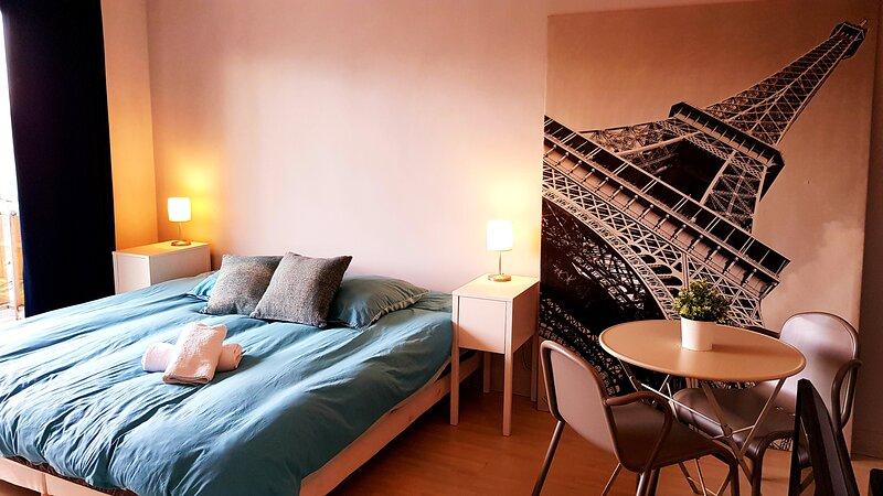 Vue sur Paris, location de vacances à Alfortville
