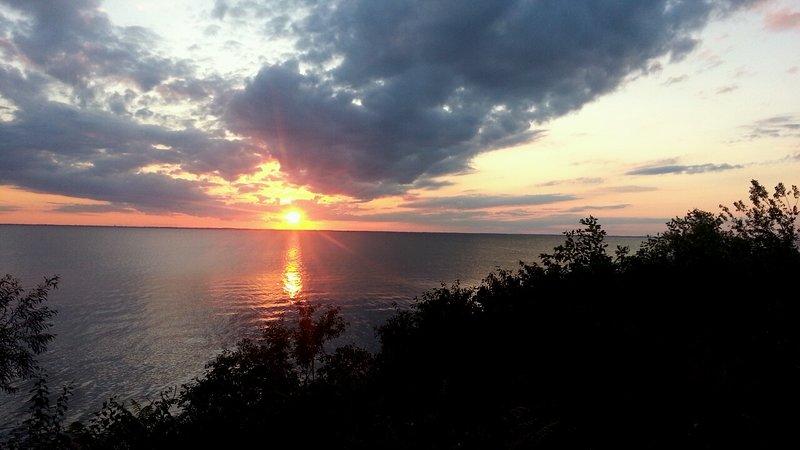 A different sunset each evening!