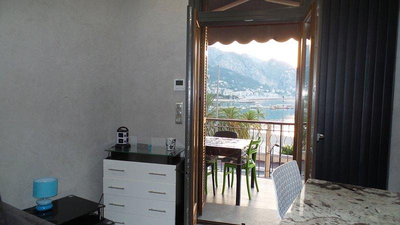 Salon avec Vue Mer Panoramique