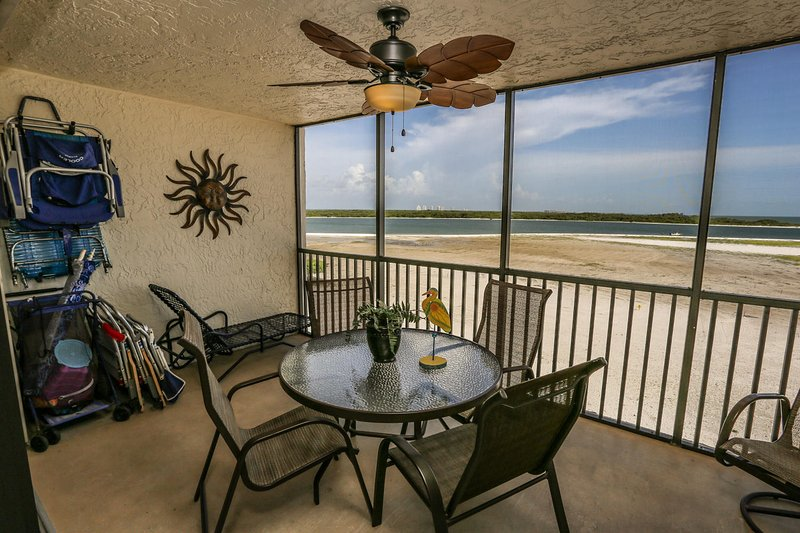 Welcome to Carlos Pointe 431. This fully furnished fourth floor, two bedroom, vacation rental in Survey Creek
