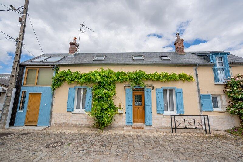 Le Berry Bleu - Maison 6 personnes centre Bourges, location de vacances à Neuvy-sur-Barangeon