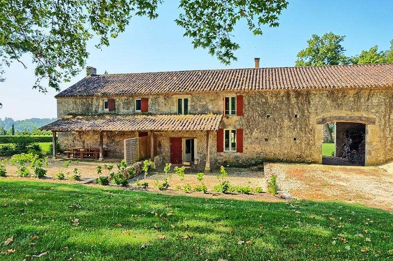 La maison d'Olive - Château de Poudenas, holiday rental in Mezin