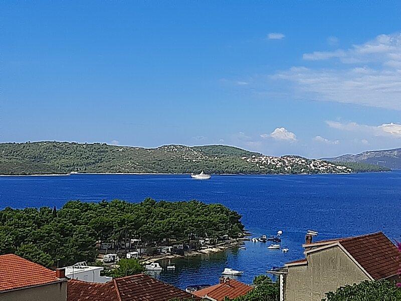GREAT SEA VIEW, NEAR TROGIR, holiday rental in Ciovo Island