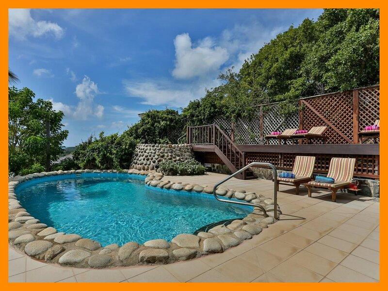 Cap Estate 55 - 3 bed spacious villa with views overlooking the Alantic Ocean, aluguéis de temporada em Cas En Bas