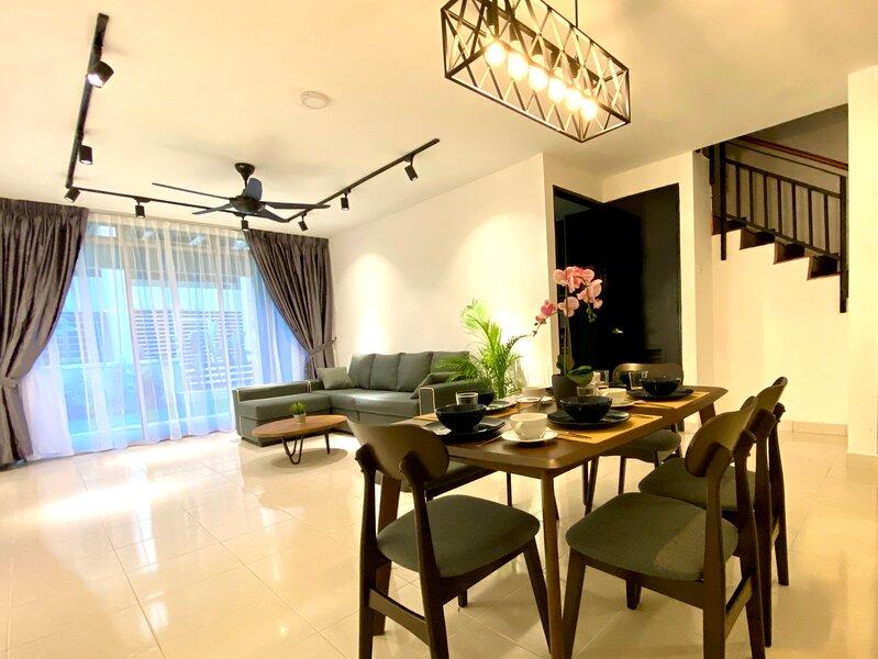 BNB Cozy Homestay - Cyberjaya (Garden and BBQ), aluguéis de temporada em Selangor