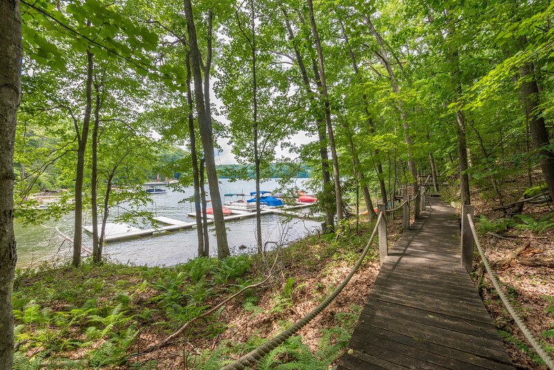 This property has community lake access! Docks are for swimming use only. No vessels permitted.