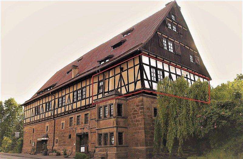 FeWo-Wetterburg am Twistesee bei Bad Arolsen, holiday rental in Breuna