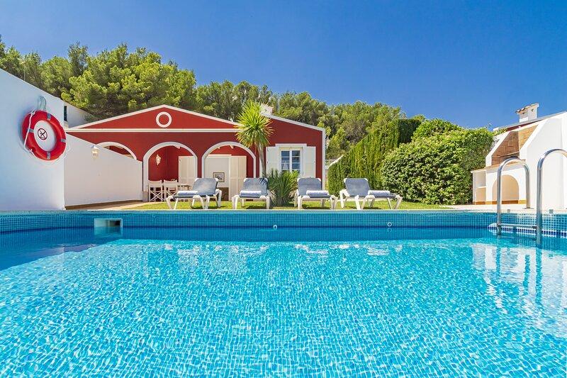Villa Galdana Palms 2, location de vacances à Serpentona