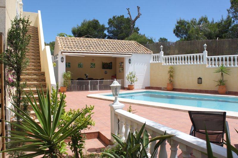 Villa Castillo Nuevo, holiday rental in Lo Rufete