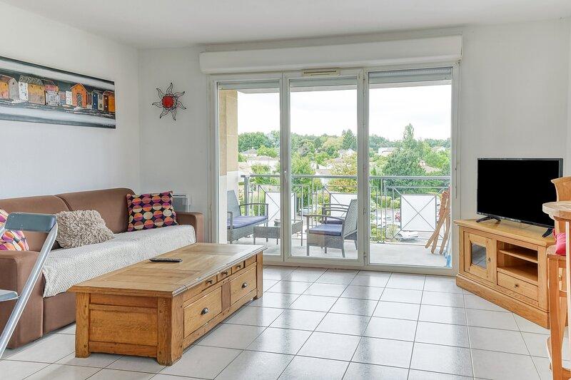 Cyrano - Appartement avec piscine - Bergerac, casa vacanza a Ginestet