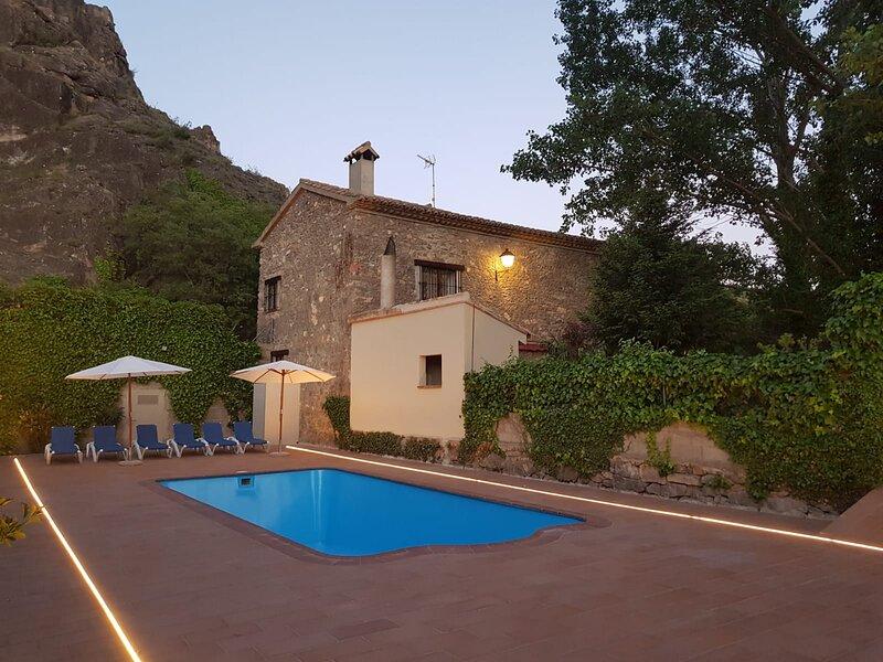 Casa rural Villa Pilar, holiday rental in Montanejos