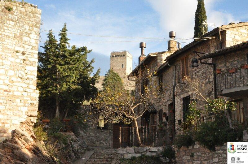 Da Marzietta Casa Centro Storico Assisi, Ferienwohnung in Ponte Grande