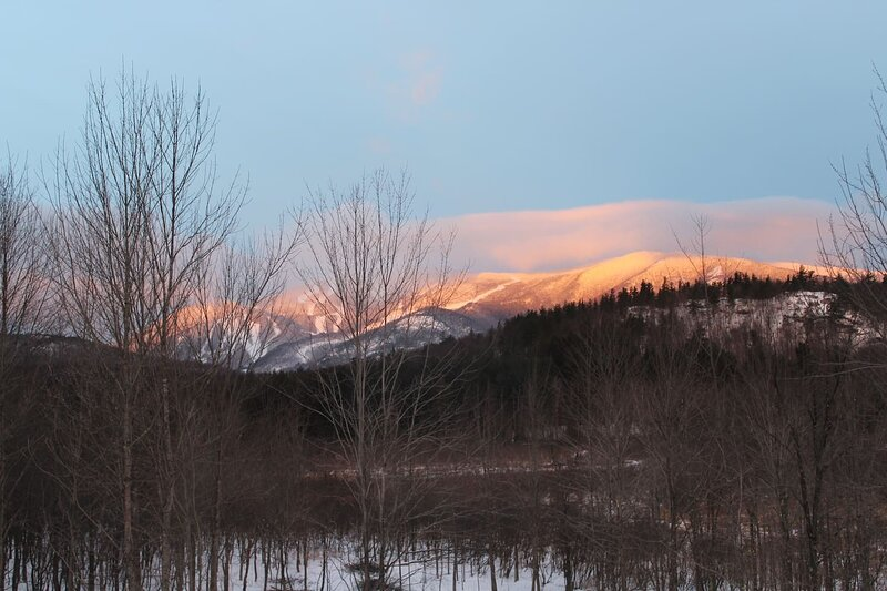 View of Whiteface Mountain at sunrise!!
