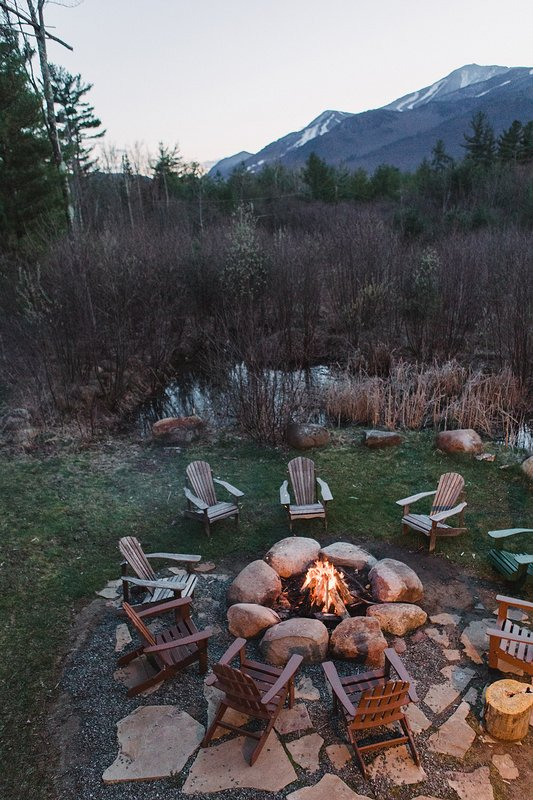 Unwind after a day of adventure around the fire pit and toast marshmallows.