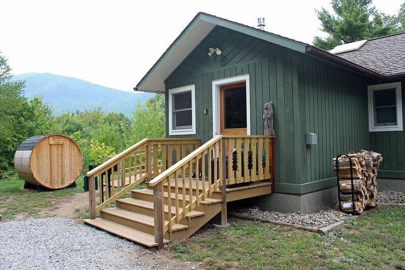 Algonquin Mountain Chalet with sauna and view of Whiteface Mountain!