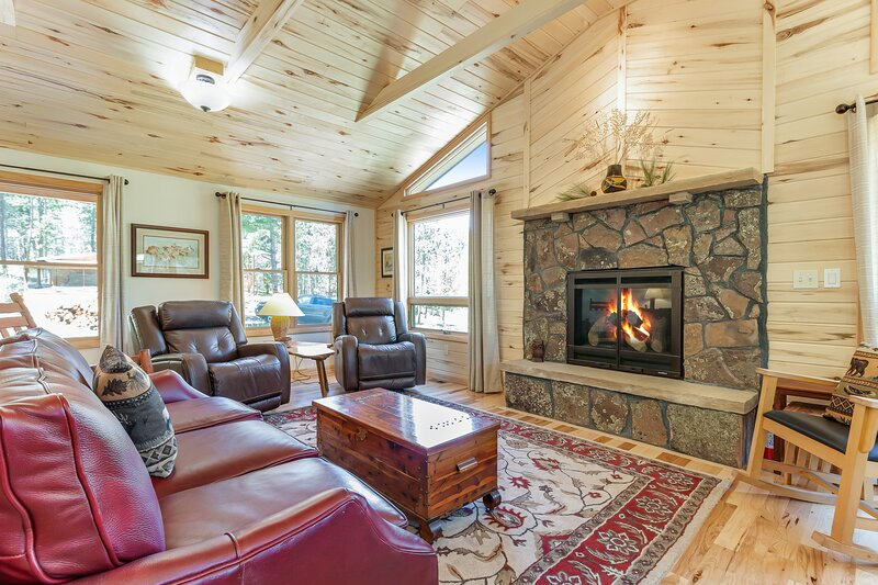 New listing! Perfect cabin in the woods w/ fireplace & mountain views - dogs OK, holiday rental in Allenspark