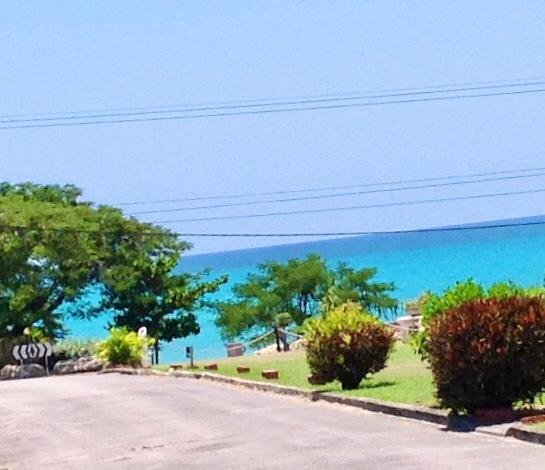 The gorgeous view of Cotton Bay from your gate