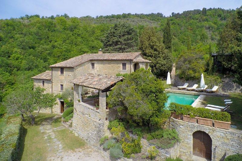 Carpini villa, holiday rental in Montone