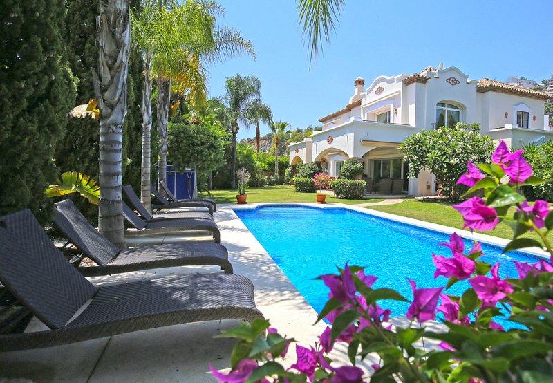 Villa Penati, alquiler de vacaciones en San Pedro de Alcántara