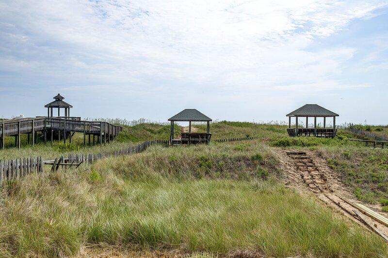 Walkway to Beach with Dunetop Gazeebo