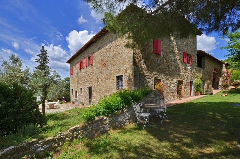 La Badia 4, location de vacances à Badia a Passignano