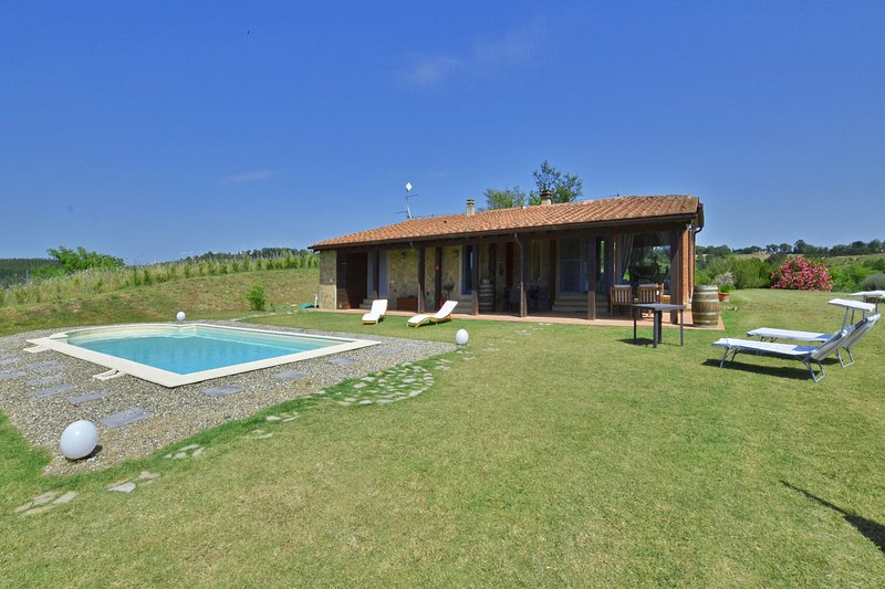 Villa Borgiano, alquiler vacacional en Bivio Montorgiali