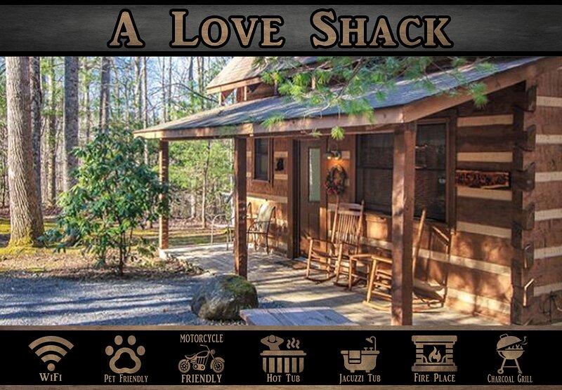 A Love Shack, alquiler de vacaciones en Cosby