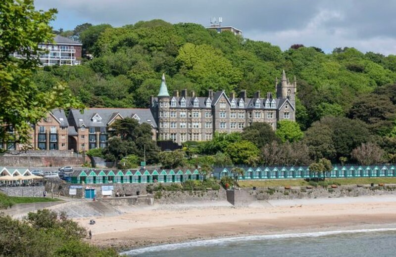 Beautiful spacious apartment 100m from the beach, holiday rental in Mumbles