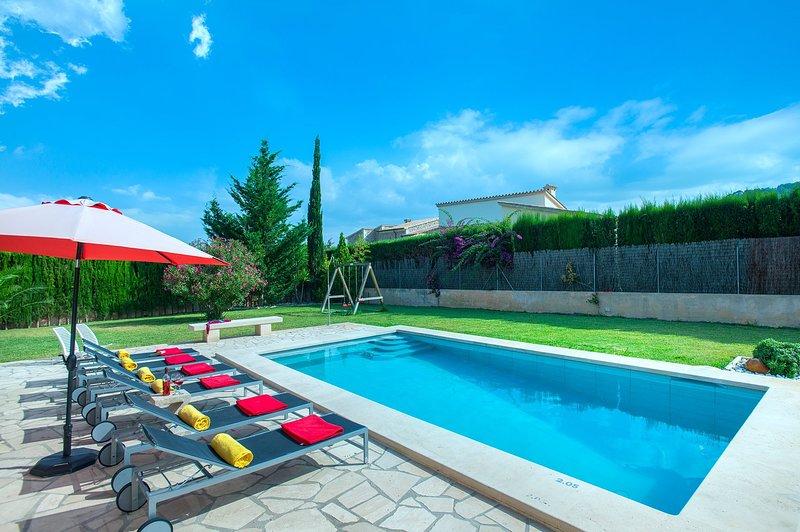LES PELLS - LUXURY VILLA, vacation rental in Sa Pobla