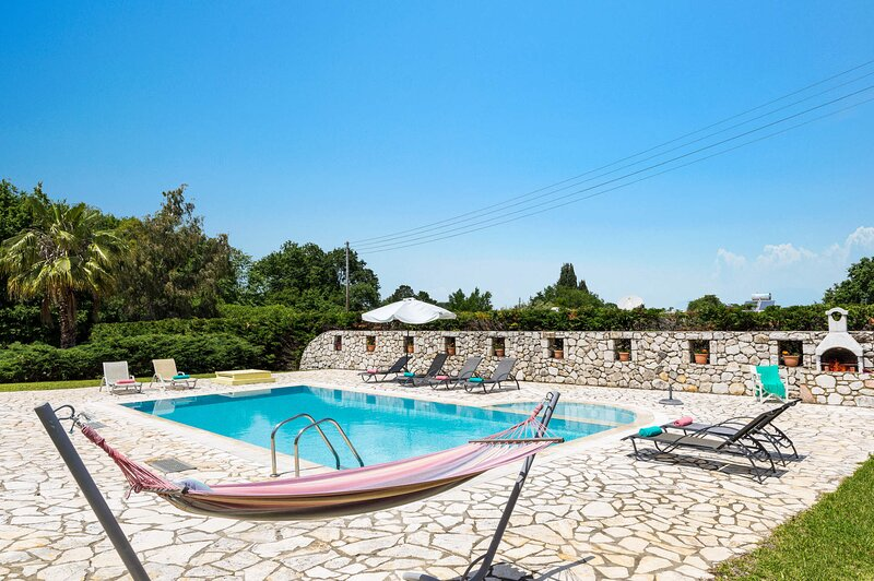 VILLA AT 90 METERS FROM THE SEA IN KASSIOPI., holiday rental in Kassiopi
