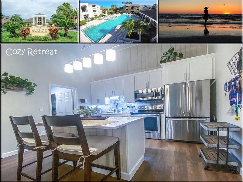 COZY RETREAT modern condo near Gulf of Mexico beaches, holiday rental in Clearwater