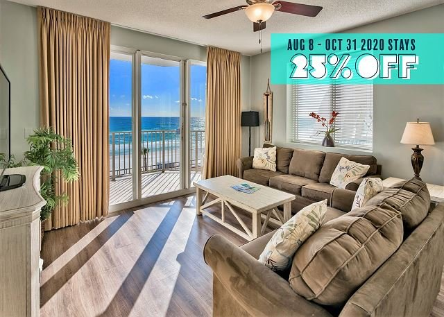BEACHFRONT DLX View *Resort +FREE VIP Perks, $100 LiveWellCredit, Pool/Hotub!, vacation rental in Miramar Beach