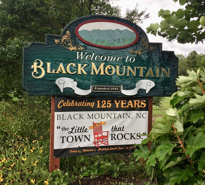 "Black Mountain, NC ""The Little Town that Rocks"""