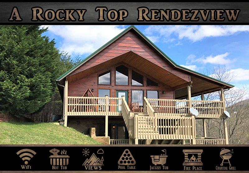 A Rocky Top Rendezview, vacation rental in Townsend