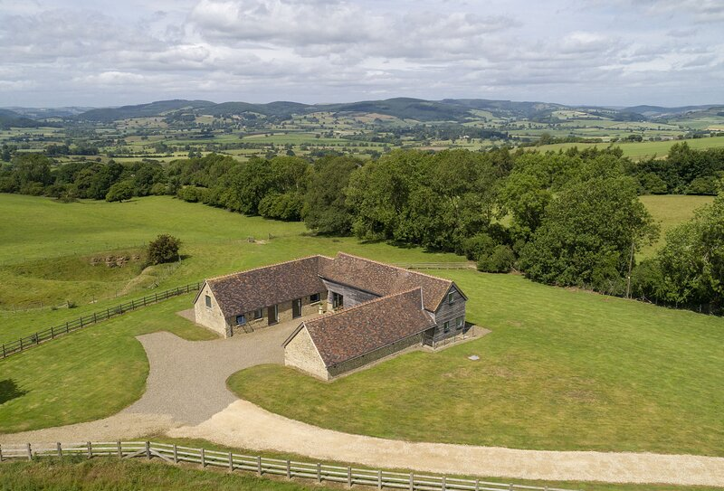Wassell Barn, holiday rental in Downton on the Rock