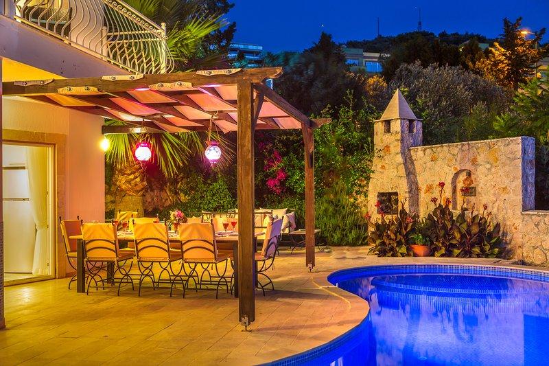 Villa Azure, Kalamar Bay,  Kalkan, holiday rental in Kalkan