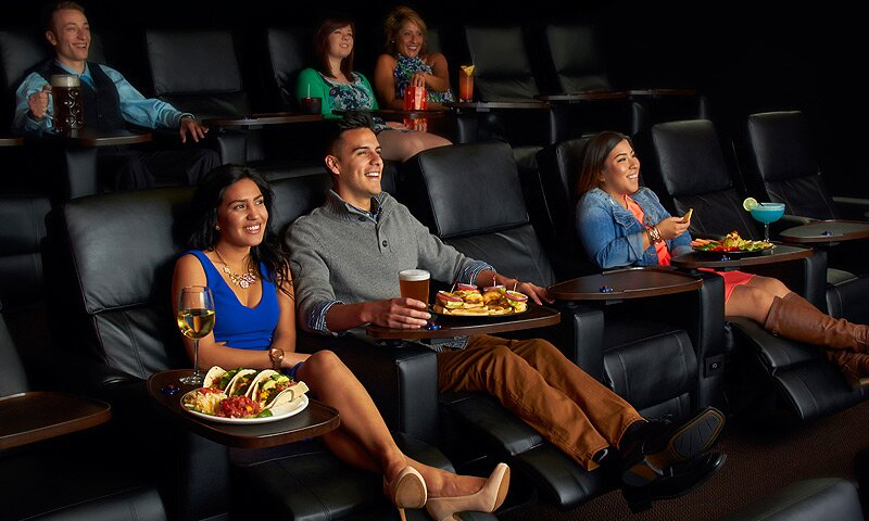 Come and experience great food and movie at the same time