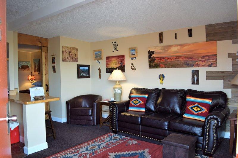 St Dane's Cabins, 'Slickrock' Cabin., location de vacances à La Sal