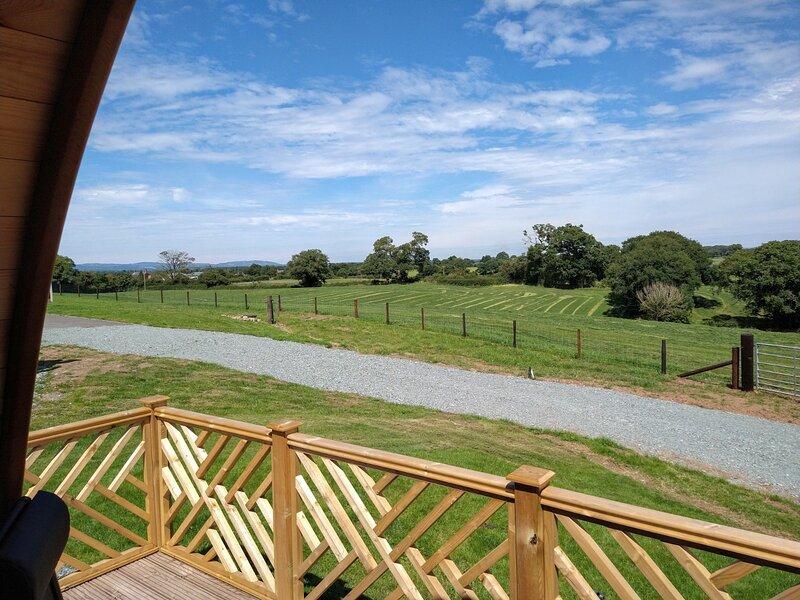 View towards North Wales