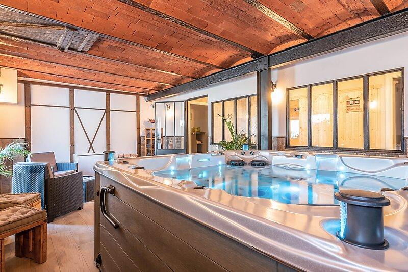 La Grange Ungersheim 5***** Détente & Loisirs en  Alsace jusqu'à 8 personnes, holiday rental in Rouffach