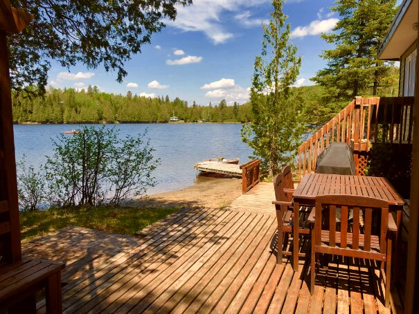 Tralina Lakefront Cottage Pet-Friendly Laurentians, vacation rental in Wentworth Nord