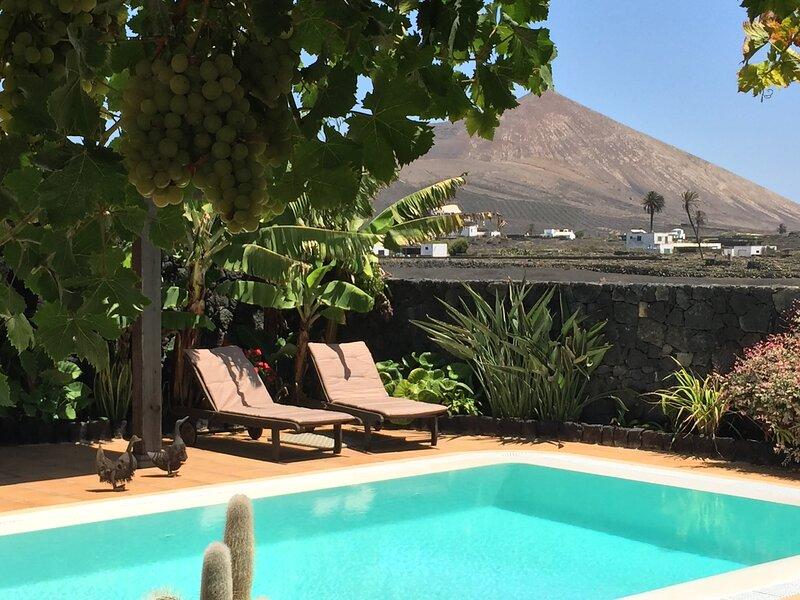 Relax entre viñedos y volcanes, vacation rental in El Islote