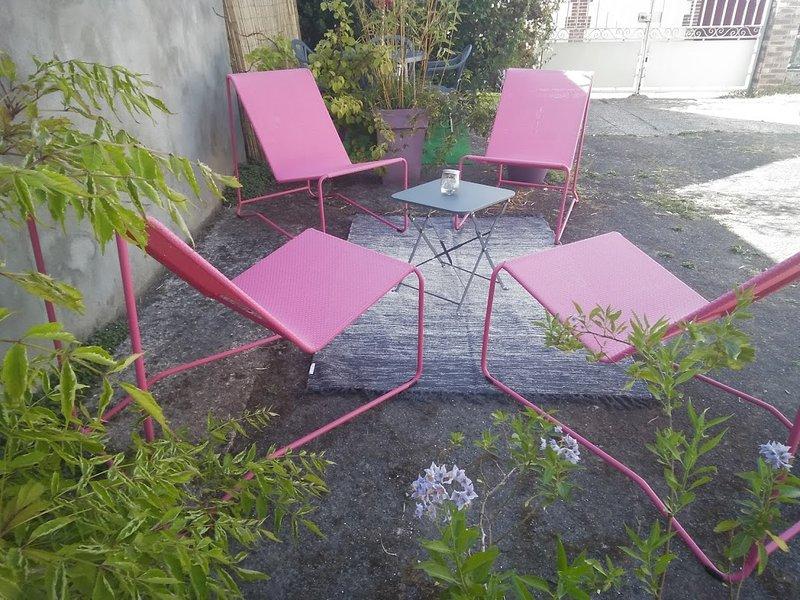 terrasse privative - coin détente