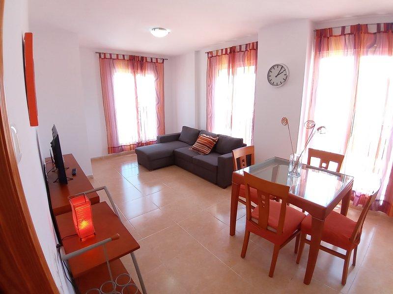 Aragón 9 Apartamento en Vinaròs. Wifi y 4 minutos playa., aluguéis de temporada em Vinaros