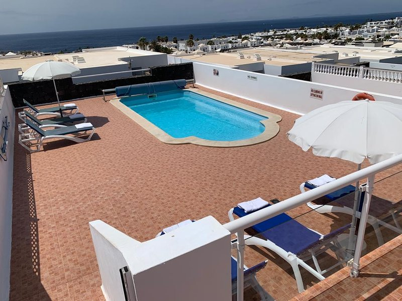 Very Large Pool Area (lower terrace)
