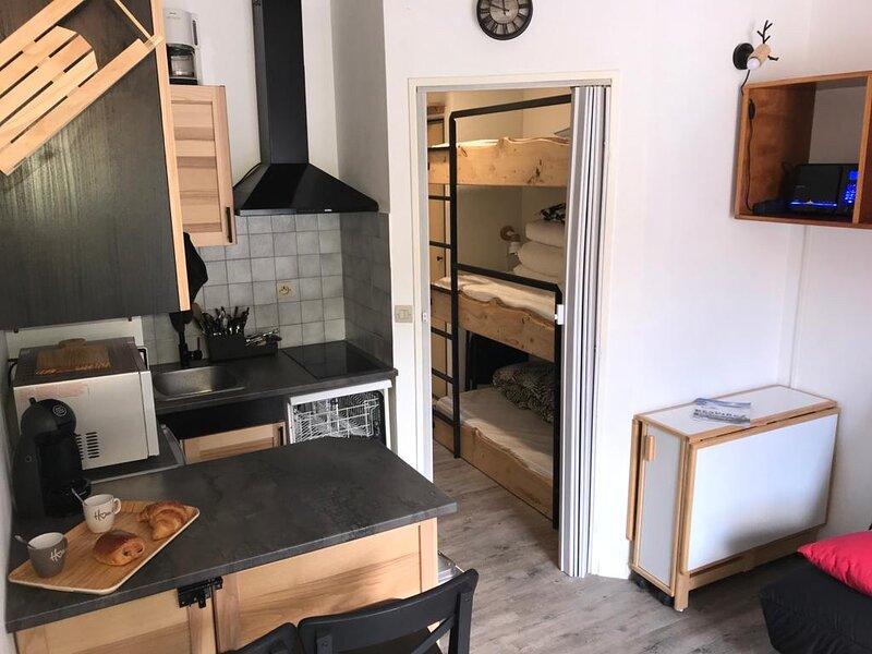 Charmant Studio, location de vacances à Colmars